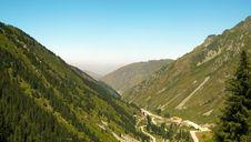Free Mountains View Near Big Almaty Lake Stock Images - 5944774