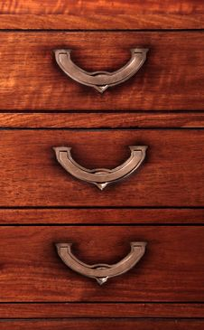 Drawer Pull Handle Stock Photography