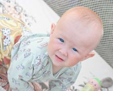 Free Little White Child Royalty Free Stock Photo - 5945535