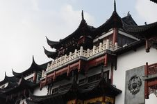 Traditional Wood Architecture Of China Royalty Free Stock Photos