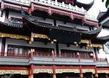 Traditional Wood Architecture Of China Royalty Free Stock Images