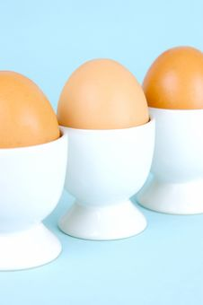 Free Hard Boiled Eggs Royalty Free Stock Photography - 5946147