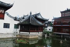 Traditional Wood Architecture Of China Stock Image