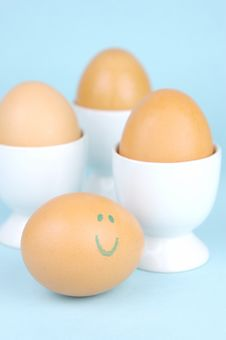 Free Hard Boiled Eggs Royalty Free Stock Photography - 5946207