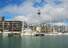 Free Yachts At Auckland Harbor Stock Photos - 5946273