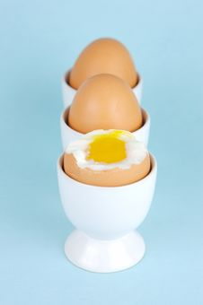 Free Hard Boiled Eggs Stock Image - 5946301