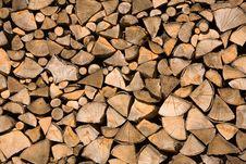 Free Wood Chunks Royalty Free Stock Image - 5946826