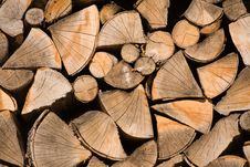 Free Wood Chunks Stock Image - 5946891