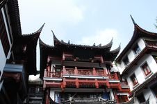 Free Old Architecture Of China Royalty Free Stock Photography - 5947247