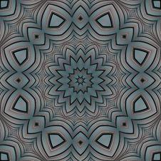 Free Primitive Geometric Floral Mandala Royalty Free Stock Image - 5948056