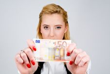 Free I Have Fifty Euro! Stock Images - 5948754