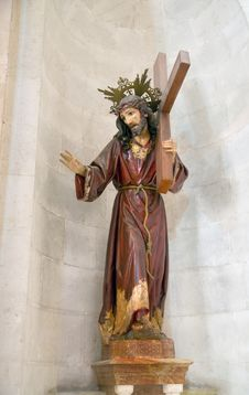 Free A Sculpture Of Jesus In The Palace Of Pontius Pil Stock Photos - 5949853