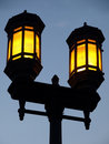 Free Dual Lamp Streetlight Stock Photos - 5953073