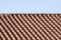 Free Tile Roof And Blue Sky Royalty Free Stock Photos - 5959078