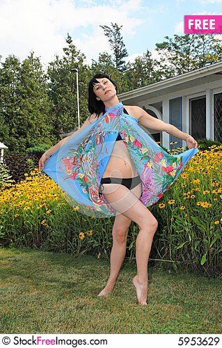 Free Pretty Girl In Bikini. Royalty Free Stock Images - 5953629