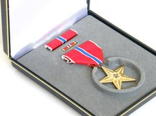 Free Bronze Star Stock Photo - 5950330