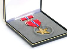 Free Bronze Star Royalty Free Stock Image - 5950366