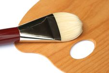 Free Paintbrush Royalty Free Stock Image - 5951206