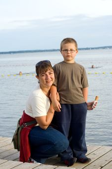 Free Mother And Son Stock Photography - 5951392