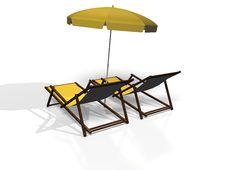 Free Beach Chair Stock Photos - 5951833
