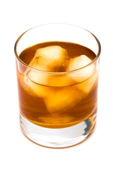 Glass Of Whisky Royalty Free Stock Image