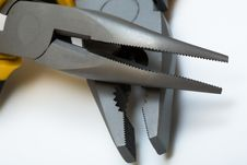 Pliers Close-up Royalty Free Stock Photo