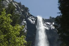 Free Upper Yosemite Falls Royalty Free Stock Photos - 5952378