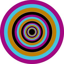 Free Circle Colour Target Royalty Free Stock Photography - 5952497