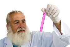 Free Scientist In Laboratory Royalty Free Stock Image - 5952686