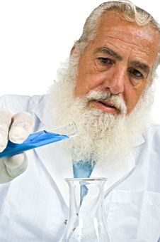 Free Scientist In Laboratory Stock Photo - 5952820
