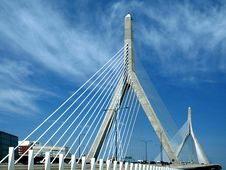 Free Cable Stay Bridge Royalty Free Stock Image - 5953066
