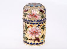 Free Cloisonne Pot Royalty Free Stock Photography - 5953617