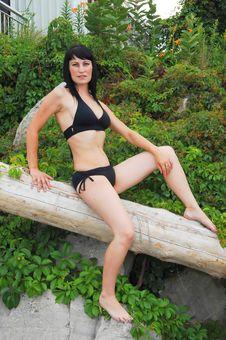 Free Pretty Girl In Bikini. Stock Photography - 5953622