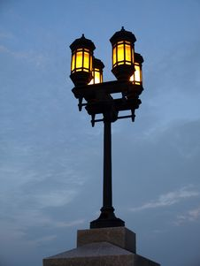 Free Four Lamp Streetlight Stock Photos - 5954183