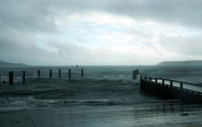 Stormy Seas II Stock Photos