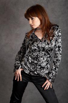 Free Fashion Girl Stock Image - 5954461
