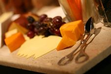 Free Selection Of Cheeses Stock Images - 5954614