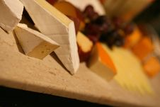 Free Selection Of Cheeses Royalty Free Stock Image - 5954616
