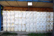 Free Lockers Stock Image - 5954781