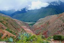 Free The Sacred Valley Stock Photography - 5954972