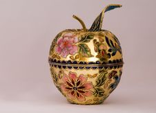 Free Cloisonne Pot Royalty Free Stock Photo - 5955415