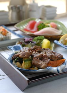 Free Japanese Seasoned Beef Royalty Free Stock Photography - 5955417