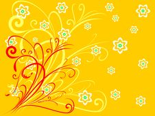 Free Flower Background Royalty Free Stock Image - 5956126