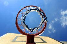 Free Basketball Hoop Stock Photo - 5956390