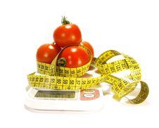 Ripe Juicy Tomato Stock Image