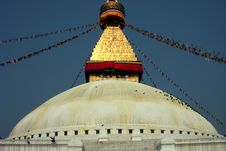 Stupa 3 Royalty Free Stock Images