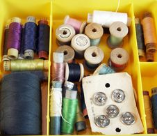 Free Set Of Threads Stock Images - 5956914