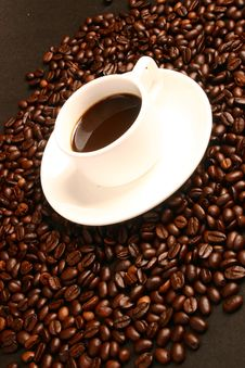 Free Coffee,coffee Beans Royalty Free Stock Photos - 5957188