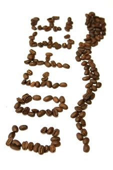 Free Coffee Grains Royalty Free Stock Images - 5958659