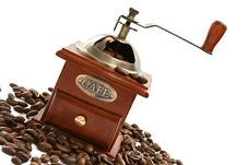 Free Old-fashioned Coffee Grinder Royalty Free Stock Image - 5958696